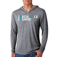 Make Our Schools Safe Lightweight Hoodie Thumbnail